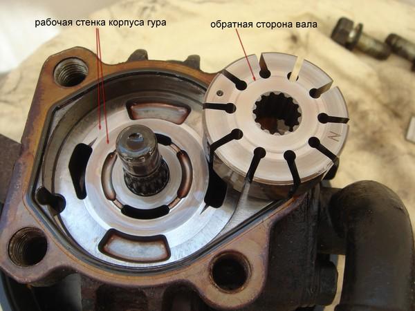 ремонт насоса гур renault фотоотчет
