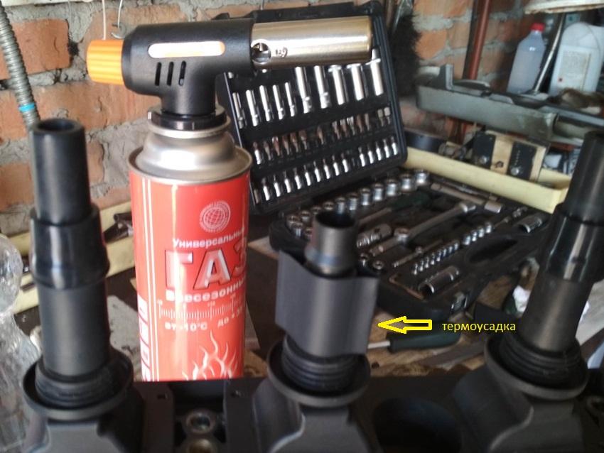 Усиление (ремонт) катушек модуля зажигания Опель