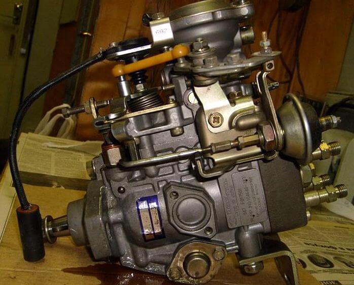 Ремонт дизельного ТНВД распределительного типа 4D56/4M40 Bosch VE