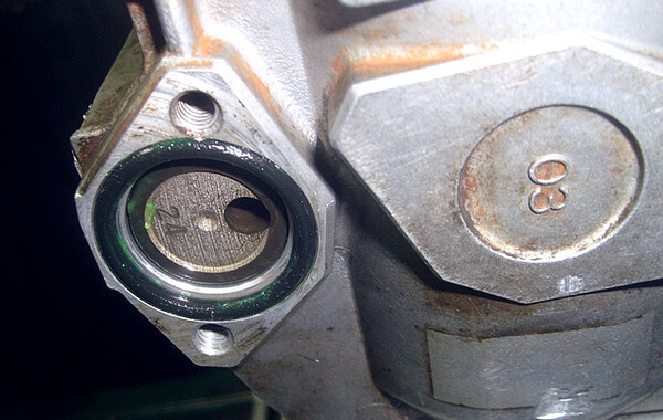 Установка таймера в корпус ТНВД Bosch
