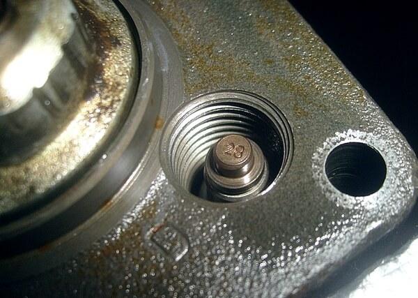 Маркировка клапана