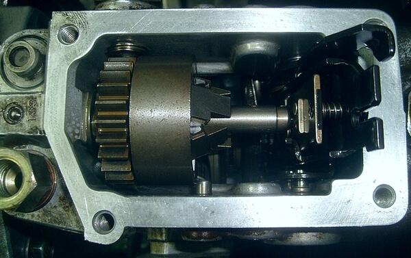 Установка привода дозатора