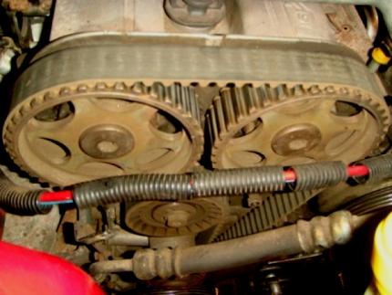 Замена ремня ГРМ на двигателе Zetec 1.6 л. 16v DOHC L1E