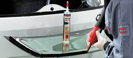 Герметик для стекол автомобиля