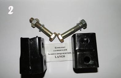 замена амортизаторов, задних пружин