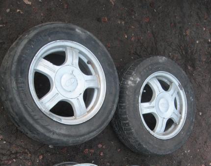 Оригинальные литые диски на Приору