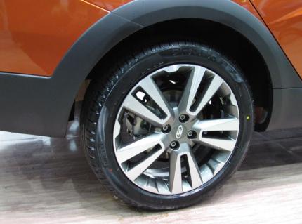 Оригинальные колеса на Весту Кросс