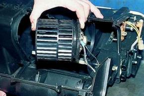 вентилятор радиатора отопителя