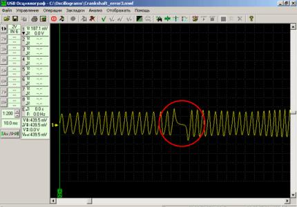 проверка ДПКВ USB осциллографом