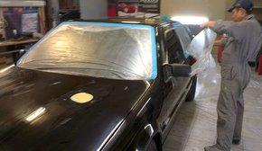 подготовка кузова к покраске Plasti Dip