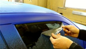 удаление резиновой краски