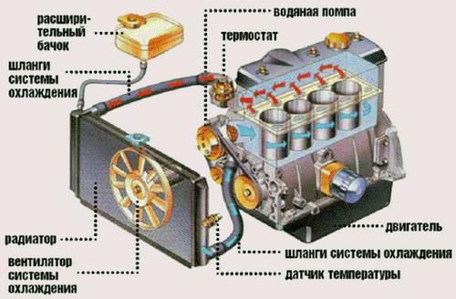 При работе трактора бьёт воду из радиатора | Fermer.Ru.