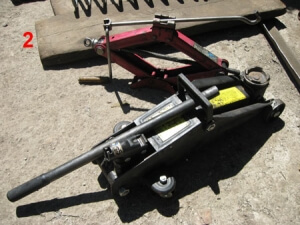 инструмент для замены задних пружин ВАЗ Классика