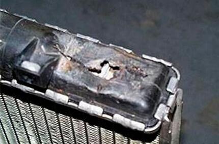 Ремонт крышки радиатора охлаждения своими руками 7