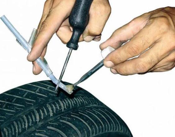 Ремонт бескамерных шин своими руками