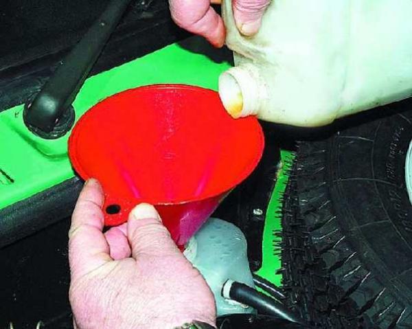 Как залить антифриз ваз 2110