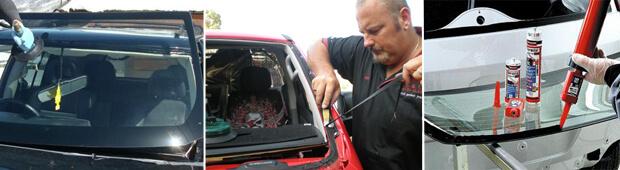 Основные шаги при замене стекла на автомобиле