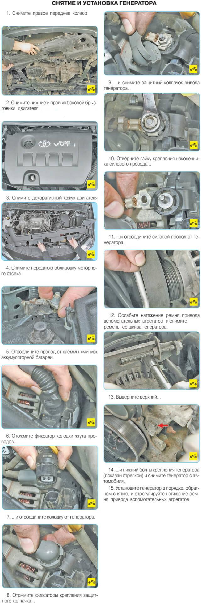 инструкция по ремонту и эксплуатации тойота королла 1998 года выпуска
