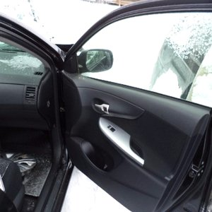 Снятие обшивки двери Тойота Королла Е150