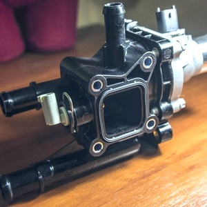 Замена термостата Aveo Т300