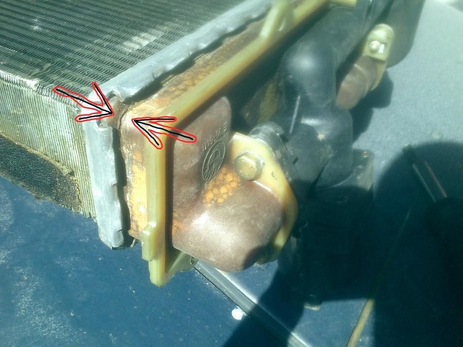 Ремонт радиатора своими руками ваз 2110