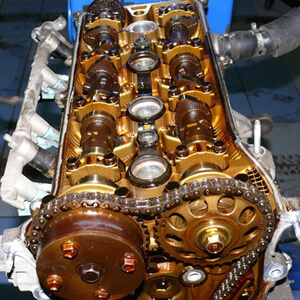 Регулировка клапанов Toyota Avensis