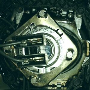 Замена ламп Volkswagen Passat B6