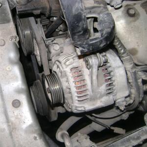 Замена деталей генератора Toyota Corona/Caldina