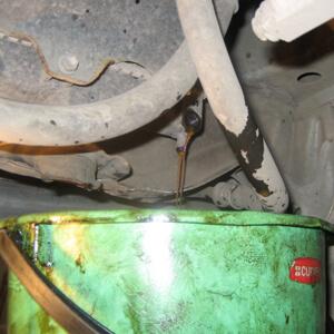Замена антифриза на Toyota Corona/Caldina
