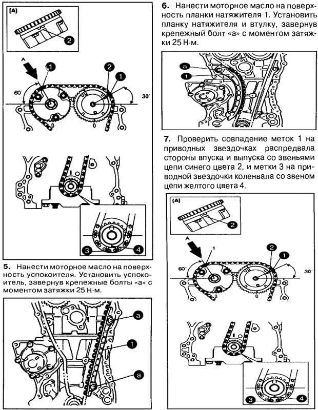 Инструкция по замене цепи на Гранд Витара