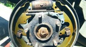 Замена тормозного цилиндра рапид