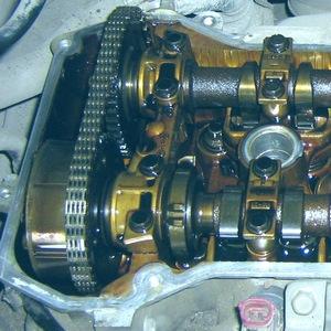 Замена цепи ГРМ Mazda Verisa