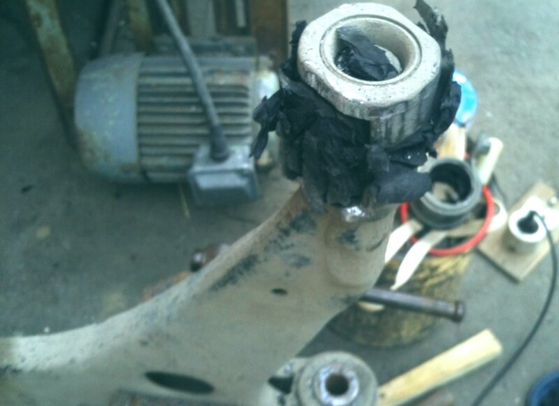 внутренняя обойма сайлентблока рычага передней подвески Фокус 2