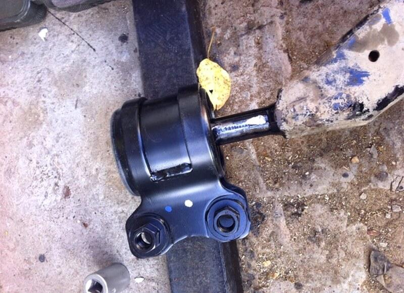 Замена сайлентблоков переднего рычага на форд фокус 2 своими руками