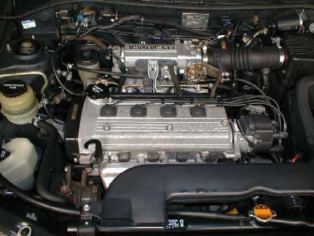 Toyota с двигателем 4E-FE