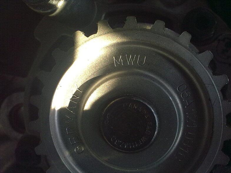 Замена помпы на VW Golf 4