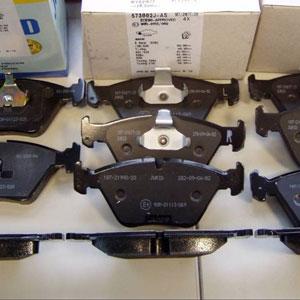 Тормозные колодки передние на ВАЗ 2110