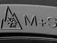 маркировка шин M+S