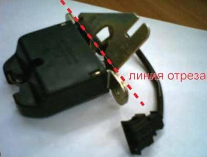 Тюнинг замка багажника Лада - «Калина»