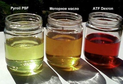 Цвет жидкости для ГУР