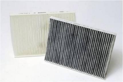 противопылевой и угольный салонный фильтр