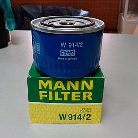 Масляный фильтр для ВАЗ 2110 Mann W914 / 2