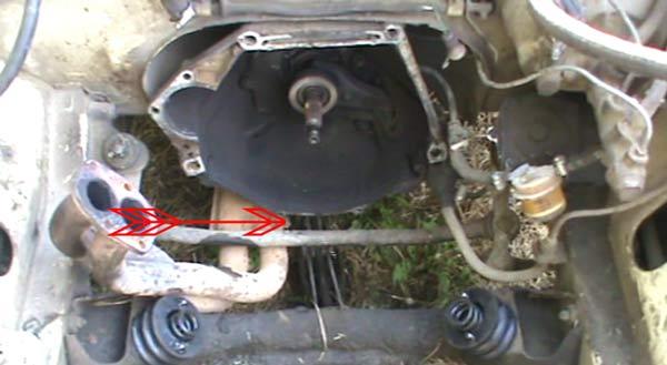 Как снять двигатель с ваз 2106 своими руками видео