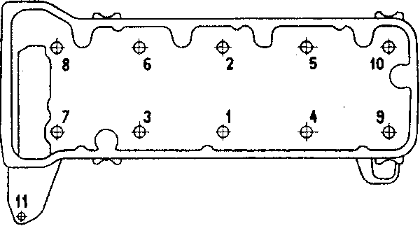 Установка головки блока
