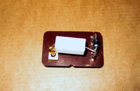 Корпус под резистор и диод