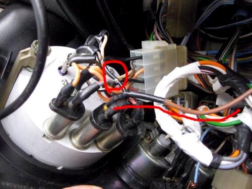 подключить генератор ваз 2106