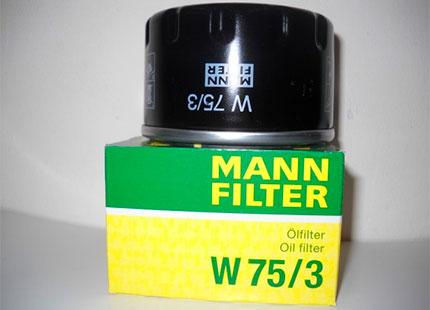 Масляный фильтр MANN-FILTER W 75/3