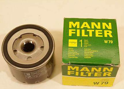 Масляный фильтр MANN-FILTER W 79