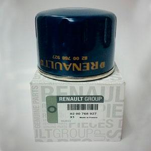 Оригинальный масляный фильтр Renault 8200768927