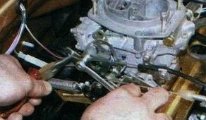 регулировка привода воздушной заслонки ВАЗ 2109